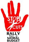 This SAT: Stop the Cuts: Rally for a MoralBudget
