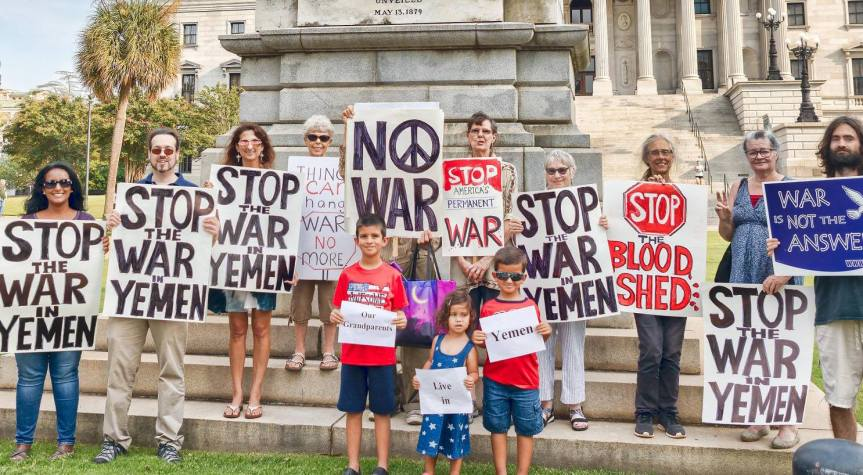 END THE WAR IN YEMEN VIGIL